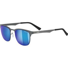 UVEX LGL 32 Lifestyle Glasses gun/mirror blue
